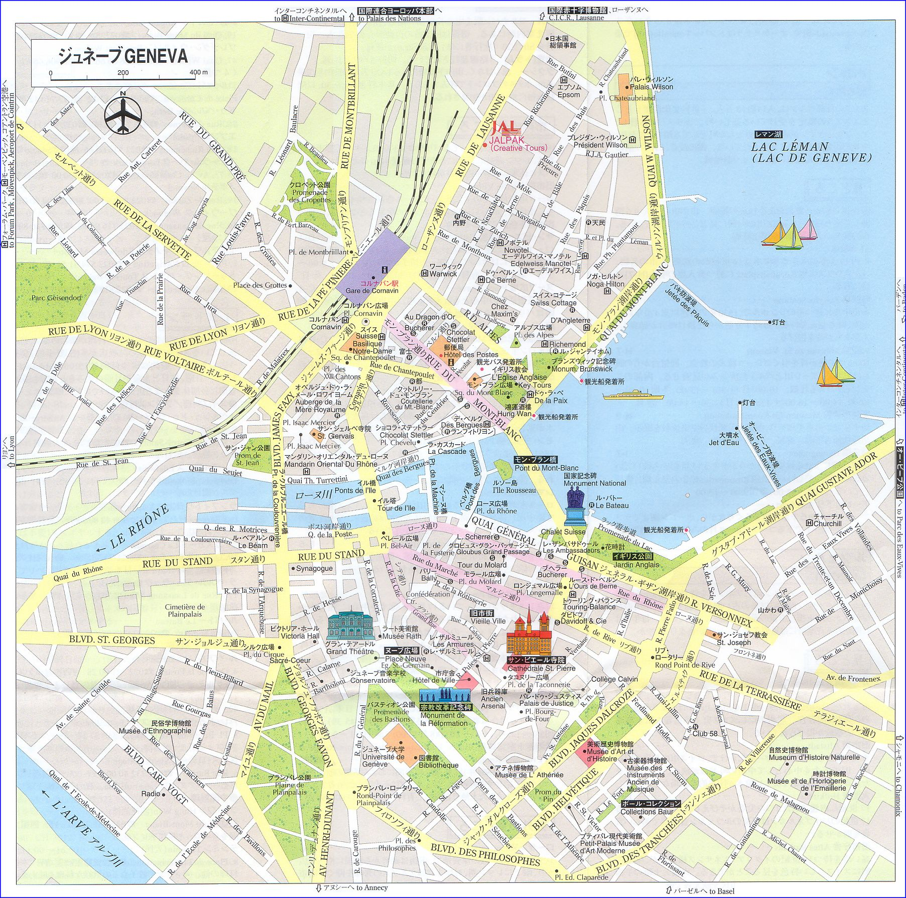 Lake Geneva Switzerland Map : 世界の山脈 地図 : すべての講義