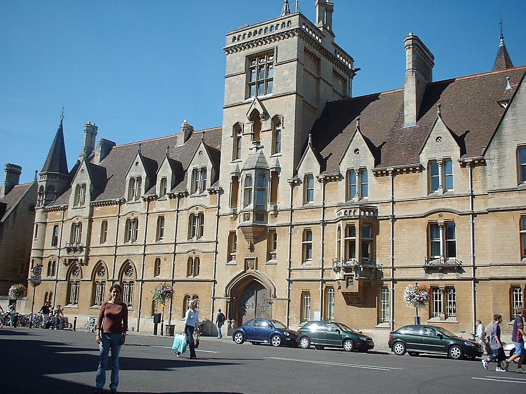 Uk Oxford Historical University Town