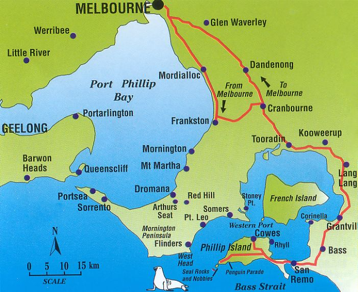 how to get to phillip island from melbourne