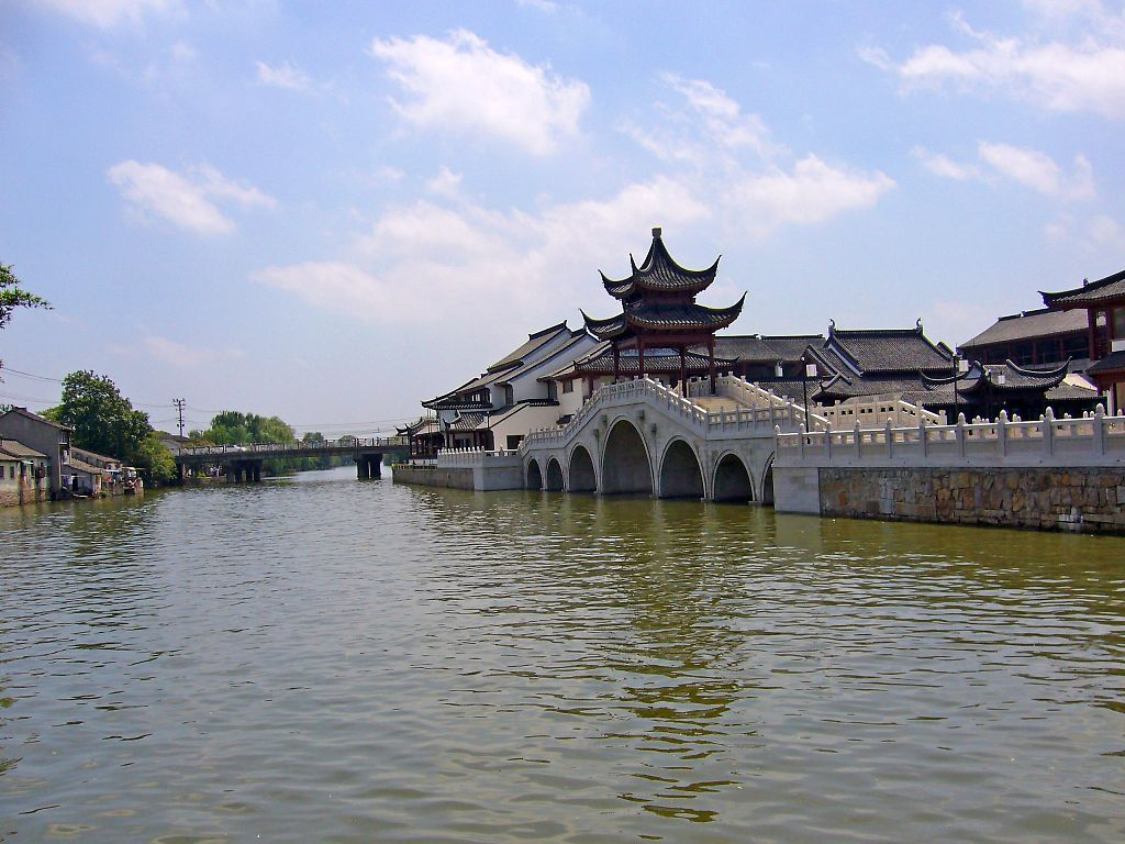 china suzhou city of water or venice of the orient