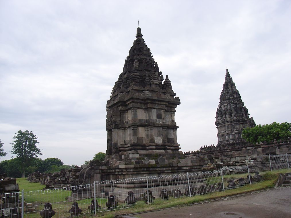 Prambanan temple is the biggest Hindu temple throughout Java