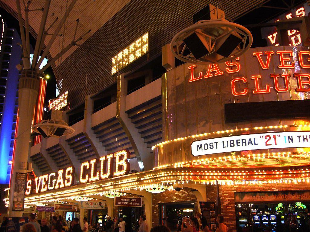 Las Vegas At Night Illuminated Tower Eiffel Gondola In